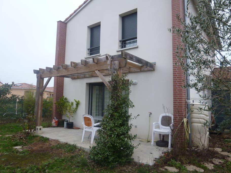 Chambre calme 1 lit double casas en alquiler en colomiers occitanie francia - Casas de alquiler en francia ...