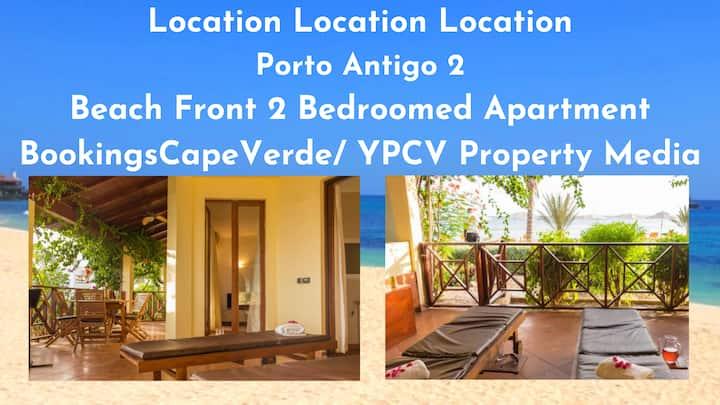 Beachfront Porto Antigo 2, 2 Bedroomed Apartment