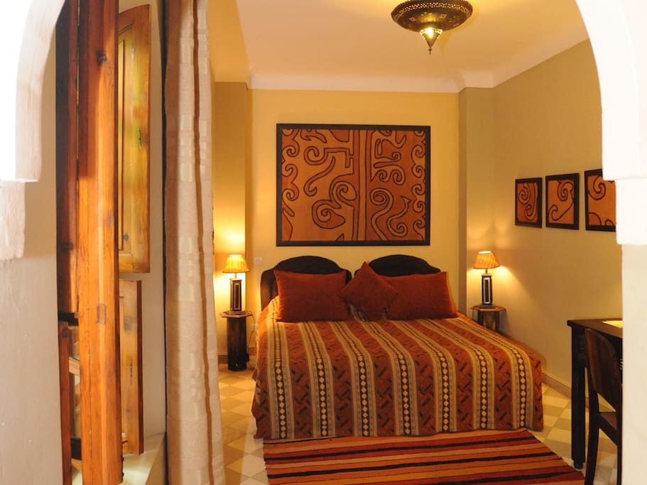 Riad Sable Chaud - Chambre Africaine