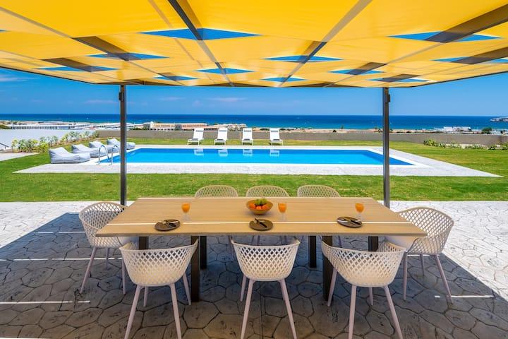 Hill & sea view villas No2