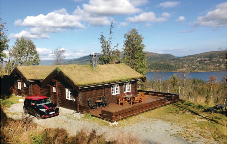 Holiday cottage with 3 bedrooms on 104m² in Flå