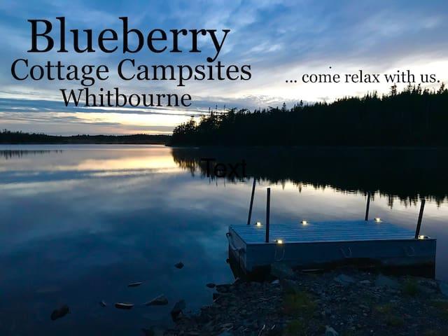 Blueberry Cottage Campsites (RV & Camper) Site A