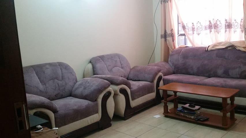 Peaceful extra comfort in Nairobi - Nairobi - Lägenhet