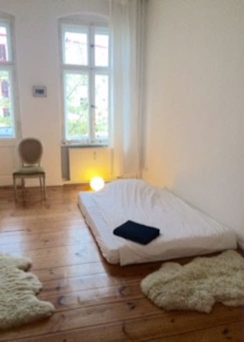 Flexible sleeping room 1-3 persons possible