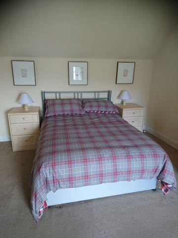Double bed in this room. All our beds have had new mattresses this year.