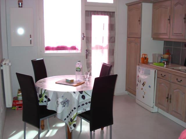 Jolie chambre dans bel appartement de 105 m2 - Cournon-d'Auvergne - Departamento