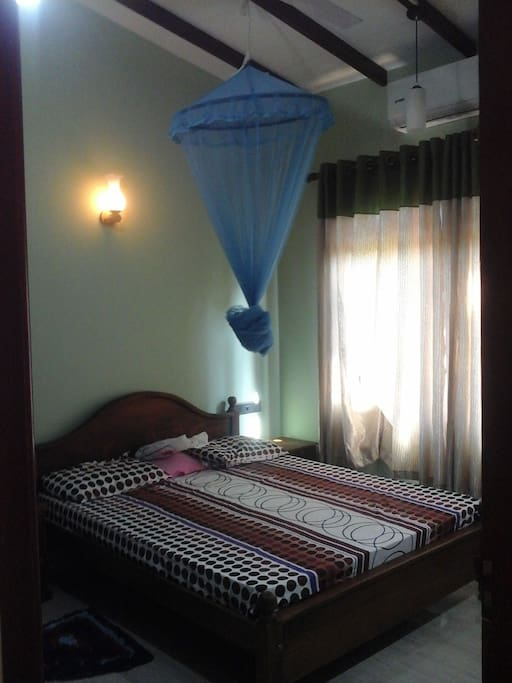 Bed Room 02 with fan. No AC