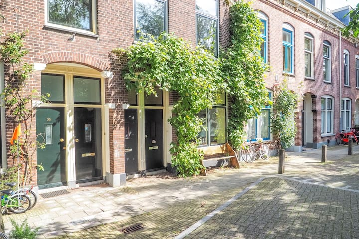 Groundfloor appartement with garden - Utrecht