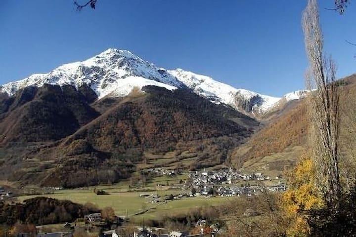 Gîte face aux montagnes classé 3* office du touris - Ancizan - Casa