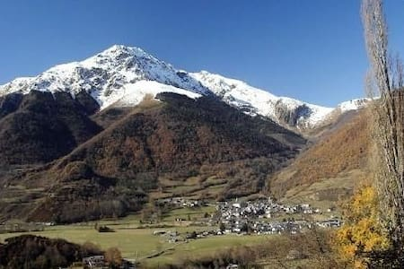 Gîte face aux montagnes classé 3* office du touris - Ancizan - Talo
