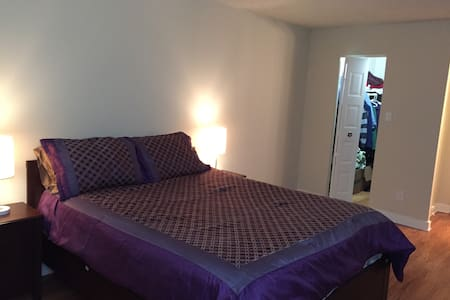 Spacious master bedroom - Annandale - Apartment