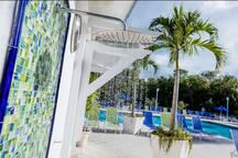 Ocean Pointe Suites is located minuets away from many restaurants and shops as well as world class fishing, diving, and snorkeling.