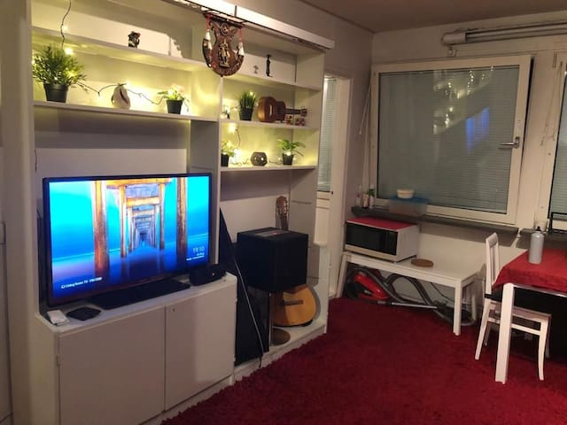 Studio apartment excellent public transport