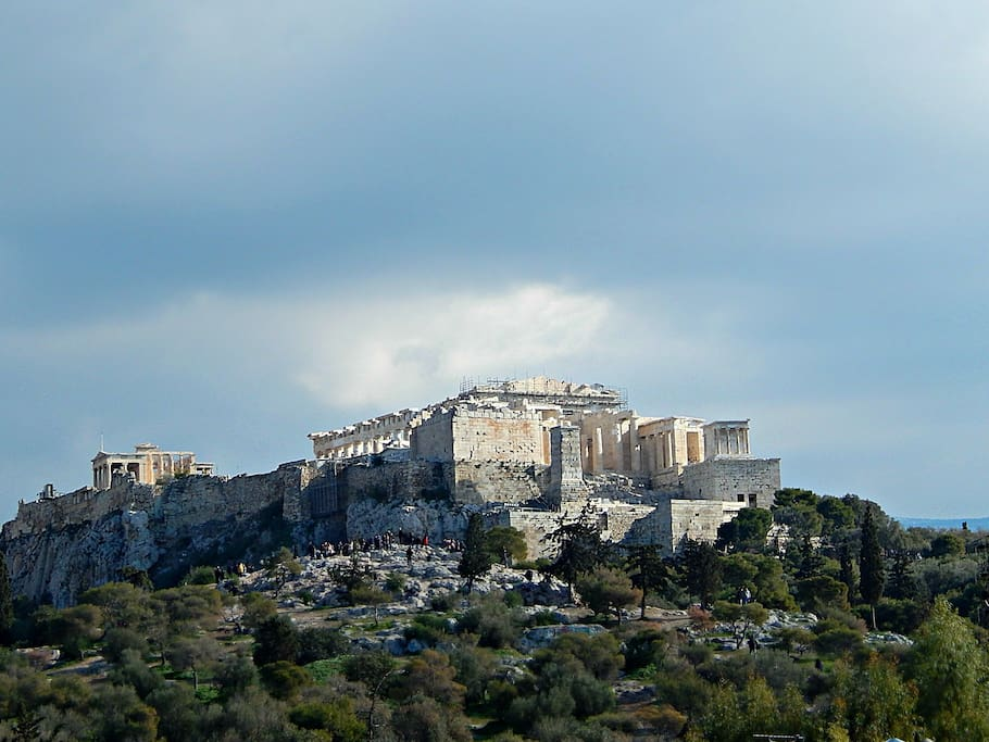 Breathtaking Acropolis View from Rooftop Terrace
