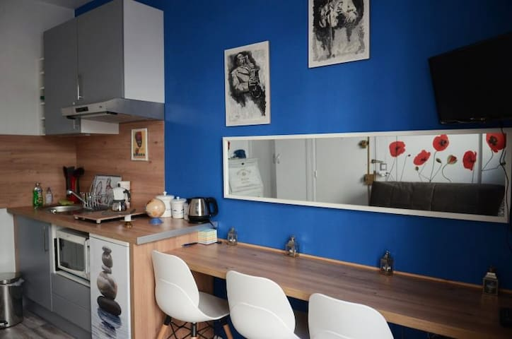 Smart studio flat in Paris, La Butte aux Cailles