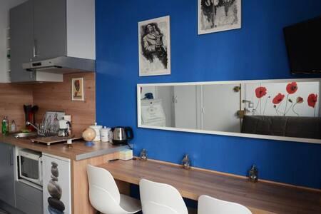 Smart studio flat in Paris, La Butte aux Cailles