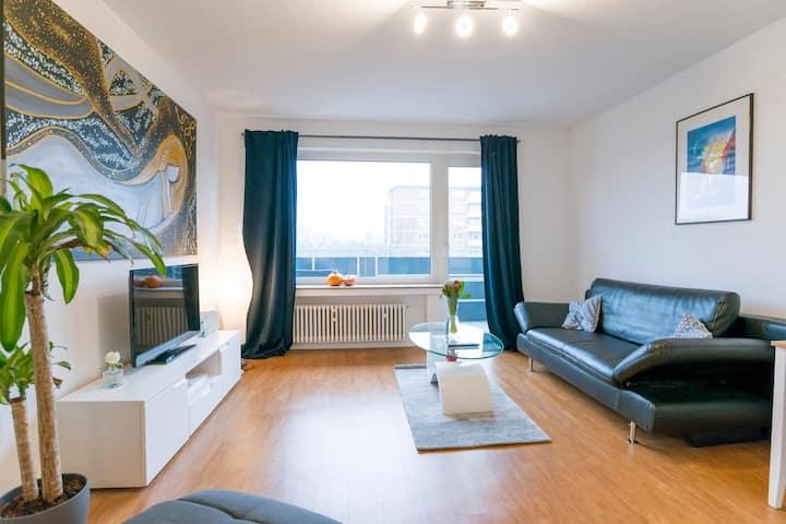 45qm 2-Room-Flat Düsseldorf