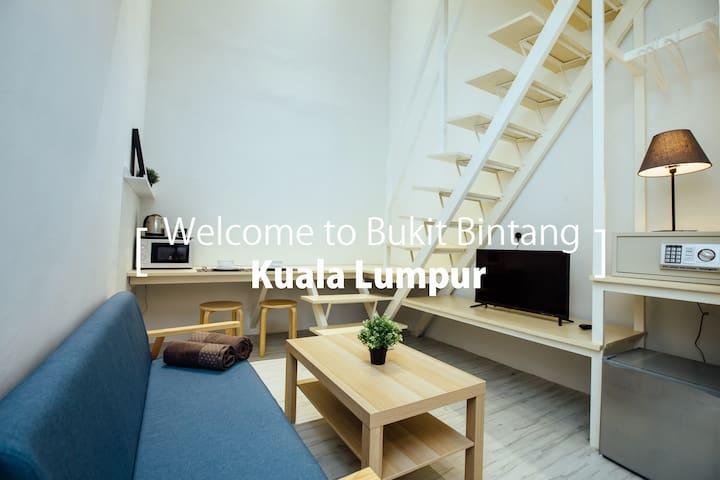 KS05 -Truly Bright & Stylist Room in Bukit Bintang