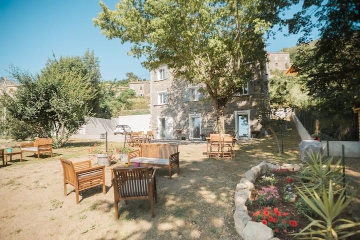 Bastelica Maison de charme Casa Marline :Chiarella