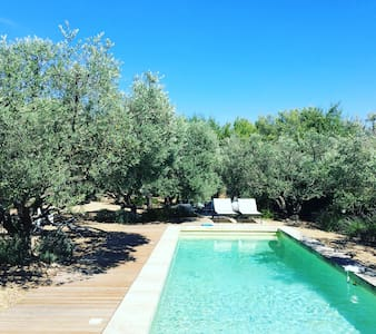 Architect House,  Heated pool, pétanque area near Lourmarin