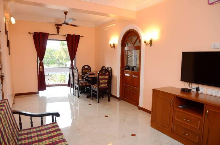 2bhk Ac apartment in Dona Paul - Vista Bellaire