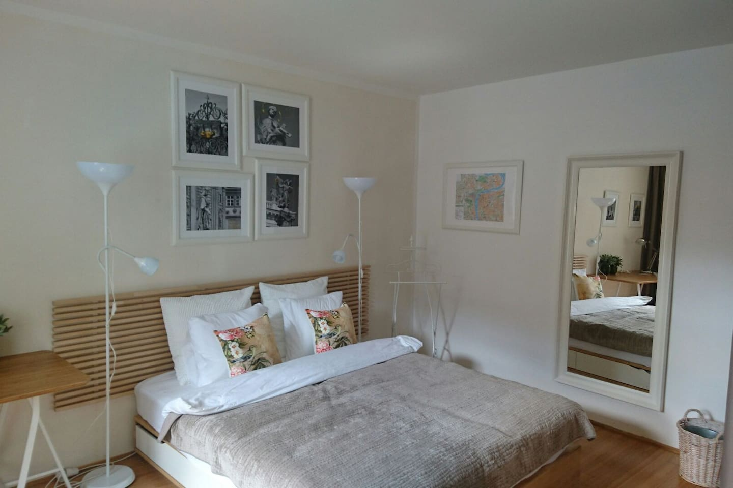 Master bedroom - bed linen - pure cotton - French set up