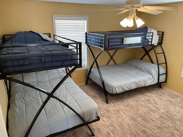 2nd bedroom - Full over twin Bunkroom