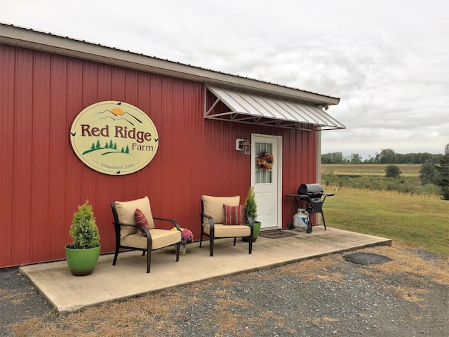 Red Ridge Farm apt. on 35 acres near Hawk Mtn. - Orwigsburg - Apartamento
