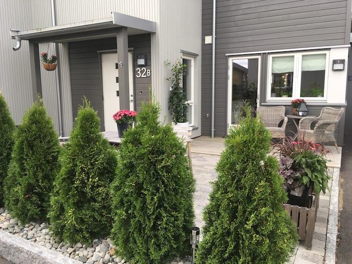 Hele huset Askim sentralt, Badeland, Oslo 45 min.