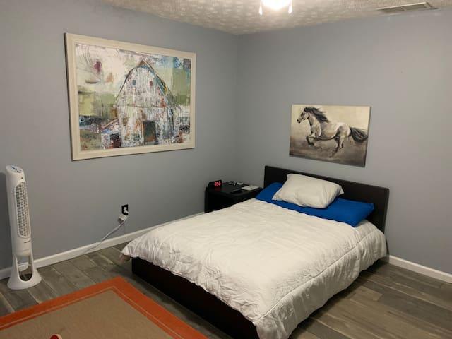 Private Bedroom & Bath near Hwy 75
