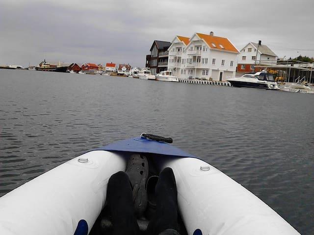 PrettyView Aakra marina - Åkrehamn - Lyxvåning