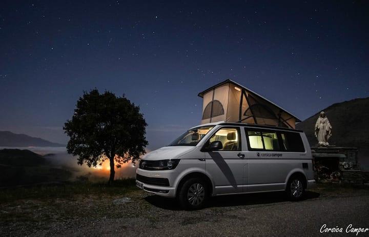 La Corse en camper-van Volkswagen California Coast