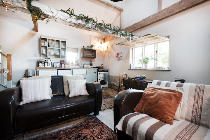 Rustic charm in The Dairy