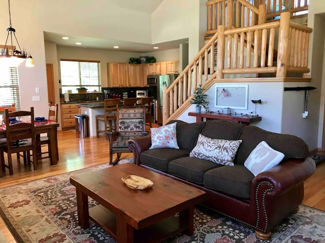 NEW! Ski-in/out Granby Ranch Home 4BR/3BA Sleep 13