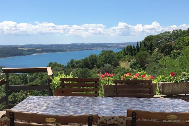 Montefiascone - bellavista Bolsena's lake