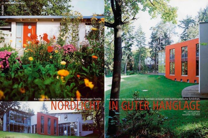 Designer Villa mit eigenem Park