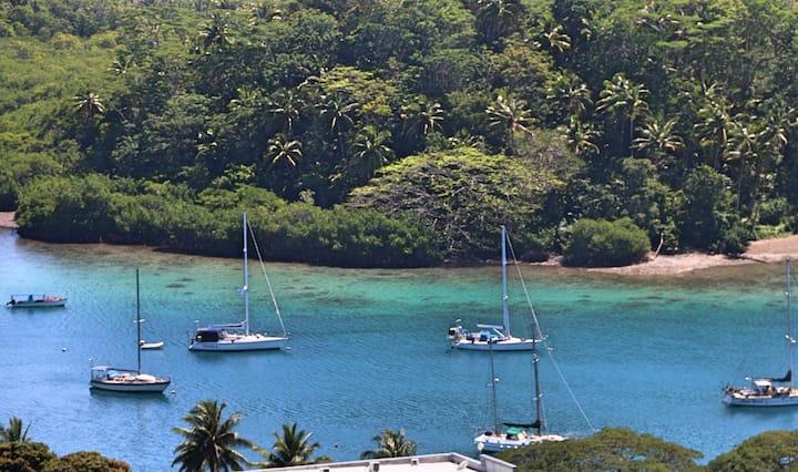 Bula Vista! Fab Fiji Container Home & Boat Shed