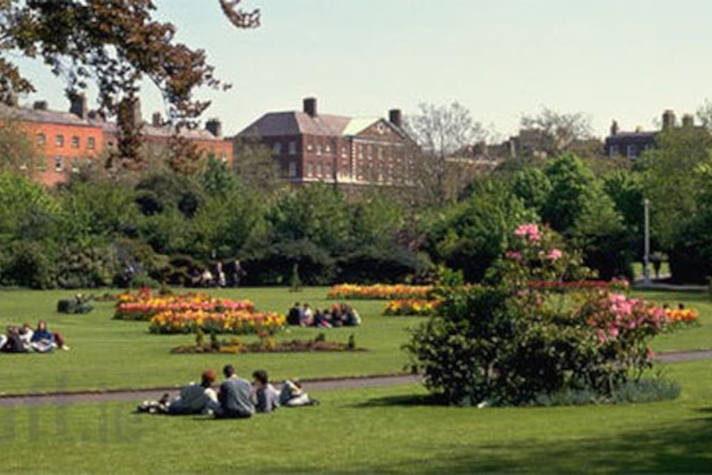Nearby Merrion Square