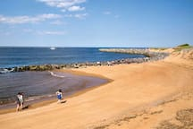Sunning, surfing or strolling along the endless beaches on Plum Island.  Check out the nature preserves or paddle along the coast.