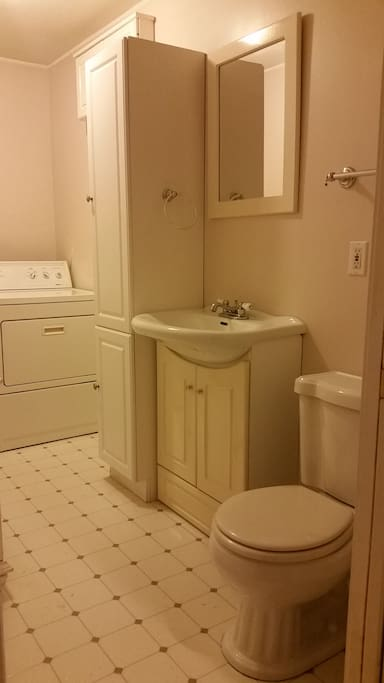 Laundry room for your outdoor clothing - and an extra 1/2 bath.