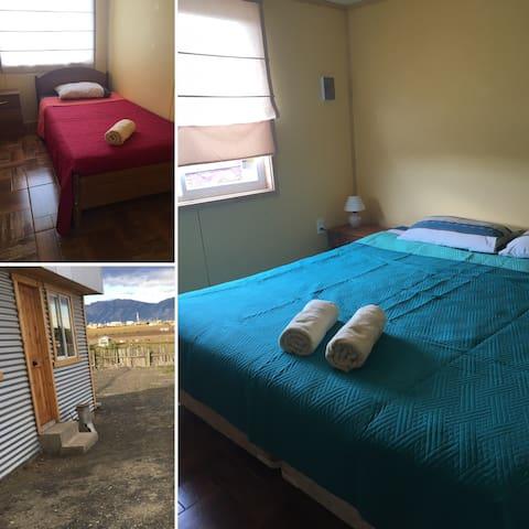 Cabaña Interior 2 Dormitorios - Puerto Natales - Casa de campo