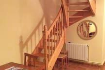 Escalera subida a planta superior