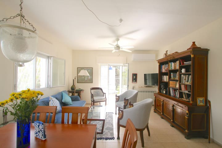 Charming 2BD with Quiet Sunny Terrace