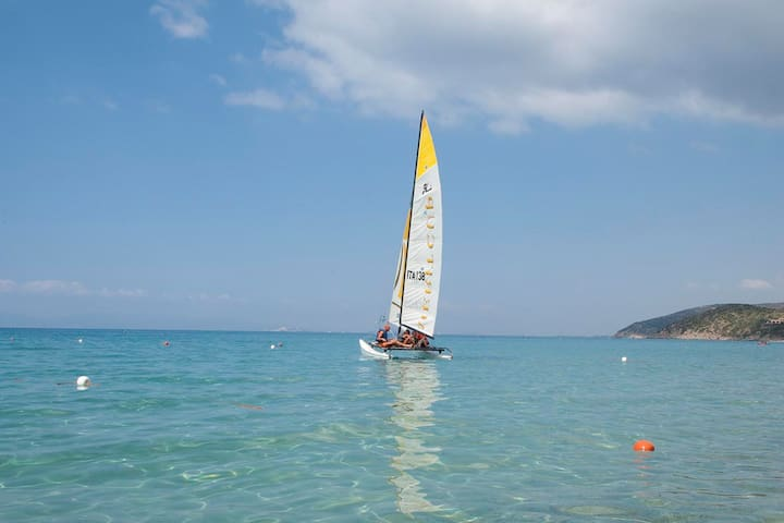 Sardinia for families, relax near the beach - Geremeas