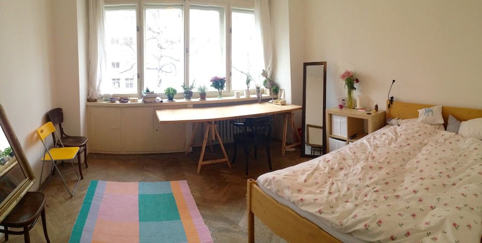Bright apartment on the riverfront - Prague - Flat