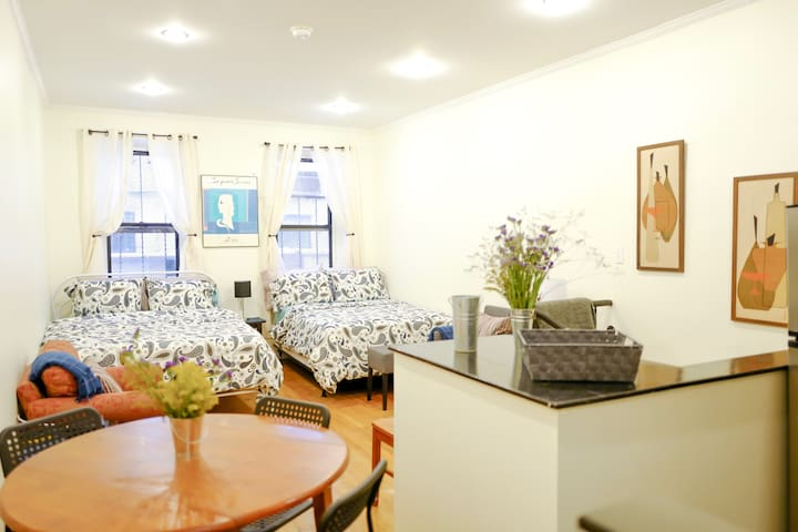 SPACIOUS Lower East Side DUPLEX 3 bed 2 ba COMFY