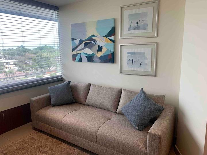 Suite Amoblada excelente ubicación en Samborondon
