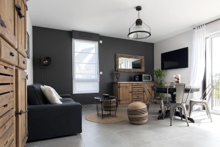 Appartement Chez Suzette accès privéPLAGE/STANDING