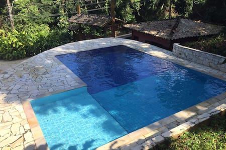 Tropical Beach Chalet - House 'Embaúba'