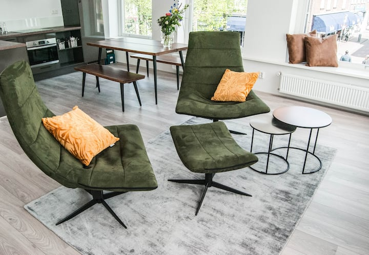 Luxury and cosy apartment in city center Delft